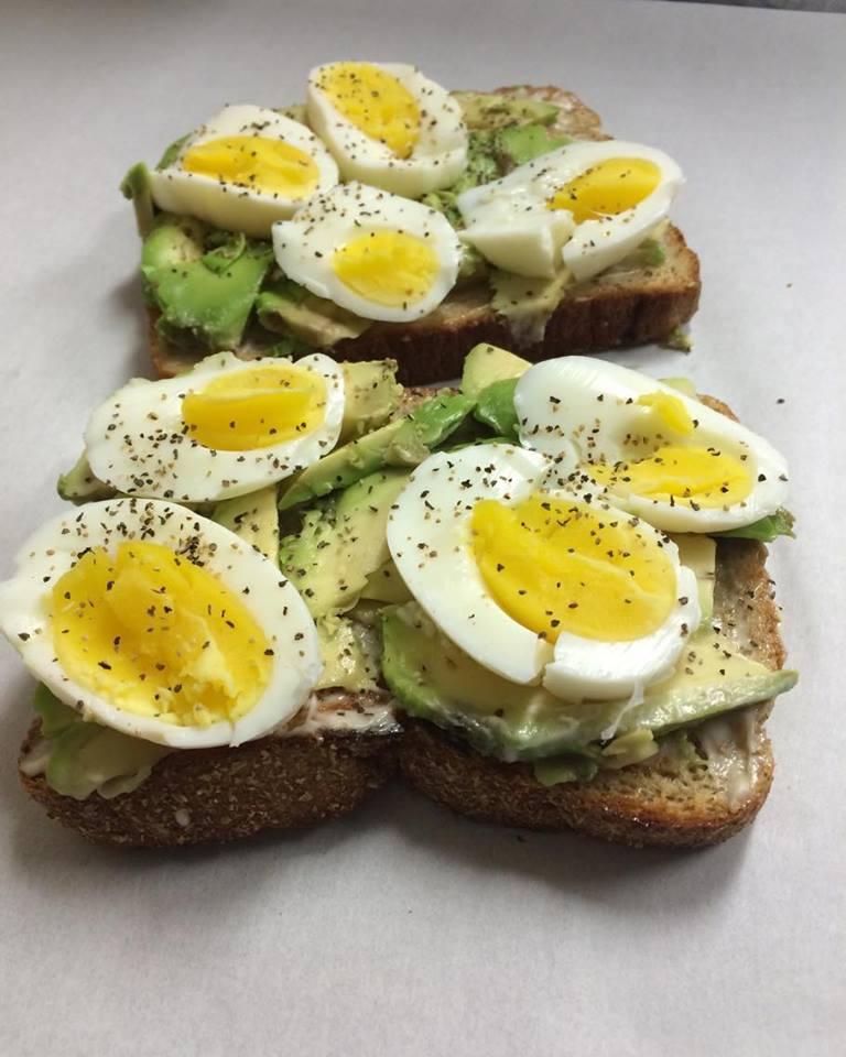 Avocado & EggToast